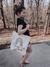 Load image into Gallery viewer, [O] Michigan Girl and Kind Tote- Natural