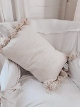 Load image into Gallery viewer, [D]Tassel Pillow- Natural