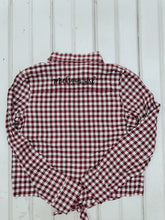 Load image into Gallery viewer, [A] Michigan Girl Buffalo Check Youth Shirt- Plaid