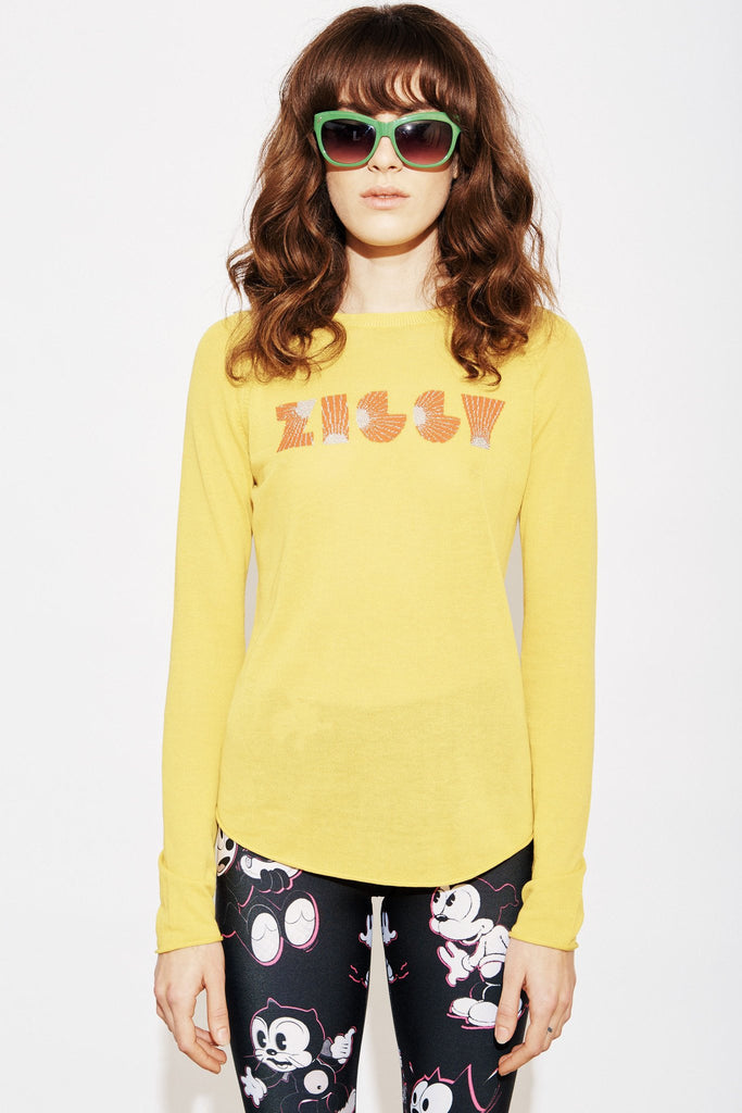 Ziggy Sweater Top - Dandelion