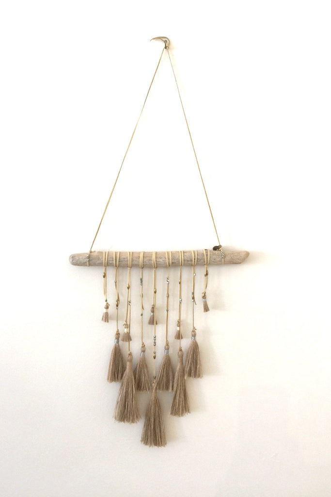 Brown Tassel Dreamcatcher