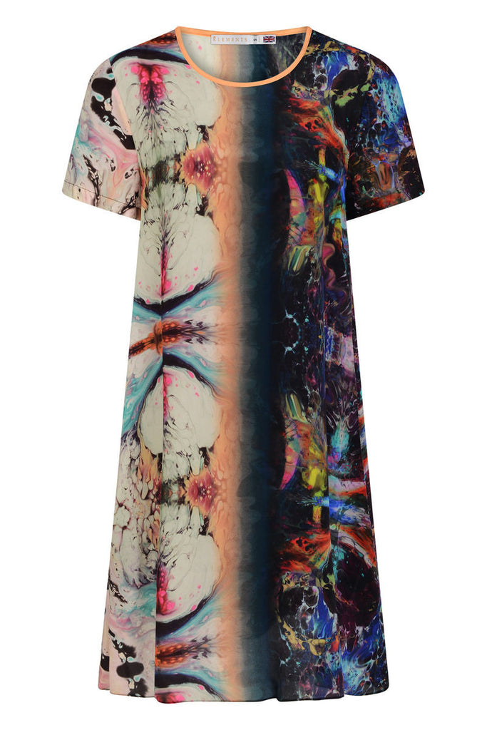 Freida Dress - Orbit Print