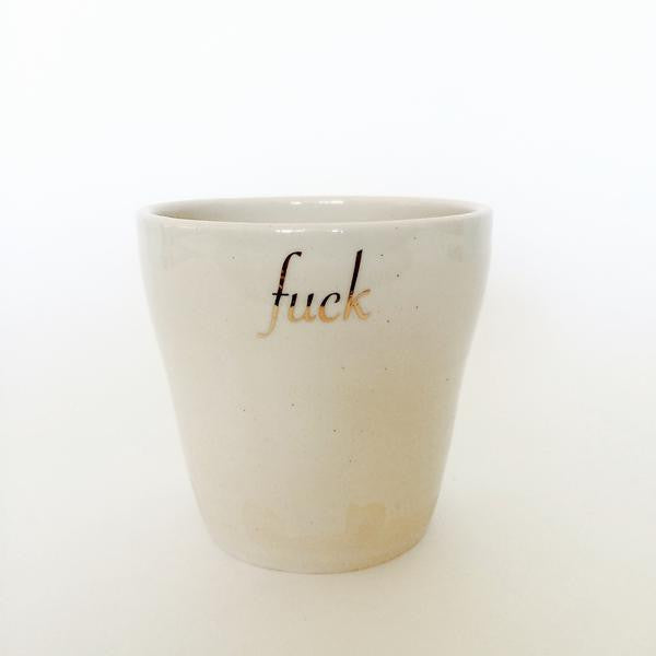 Ceramic Fuck Cups - 4oz
