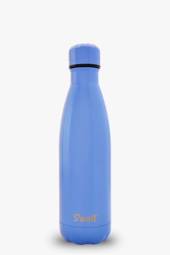 Medium Water Bottle - Monaco Blue Satin Collection