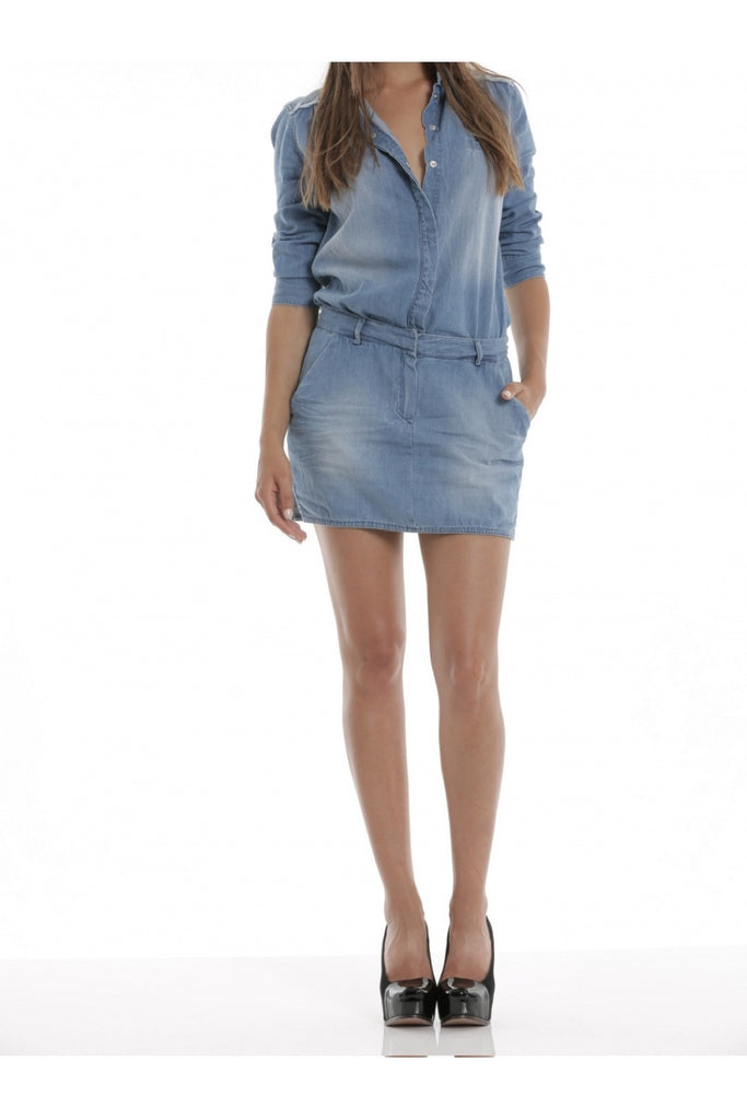 Tunic Dress - Denim