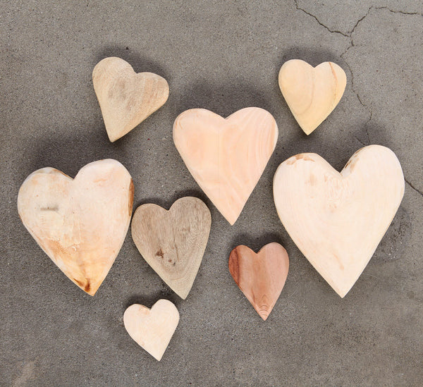 Camphor Wood Heart