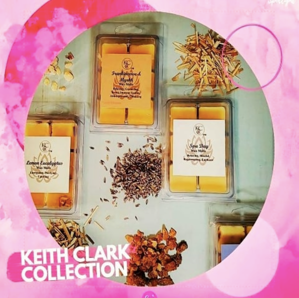 Lavender Grass Scented Wax Melts From The Keith Clark Collection