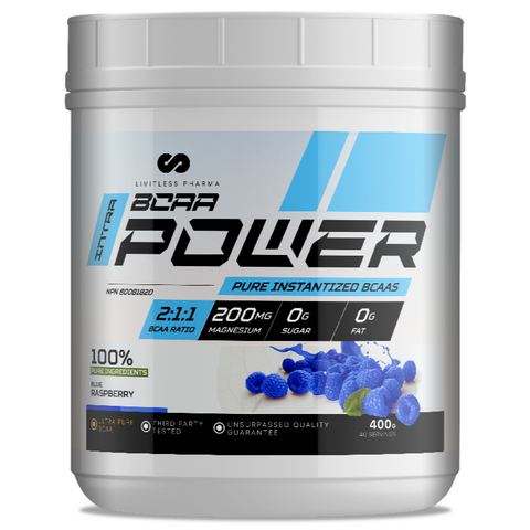 Limitless Pharma Power BCAA + Caffeine 40 serve