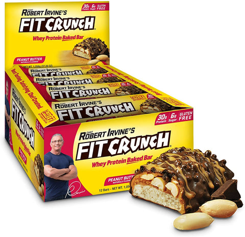 Chef Robert Irvine - Fit Crunch Bars