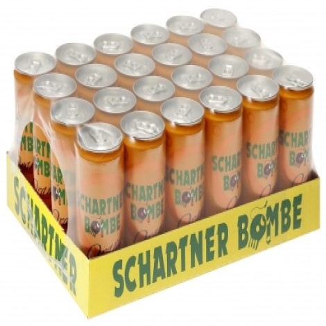 SCHARTNER BOMBE ORANGE 0,33l (24 Tray)