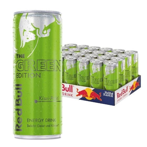 RED BULL Green Edition 0,25l (24 Tray)