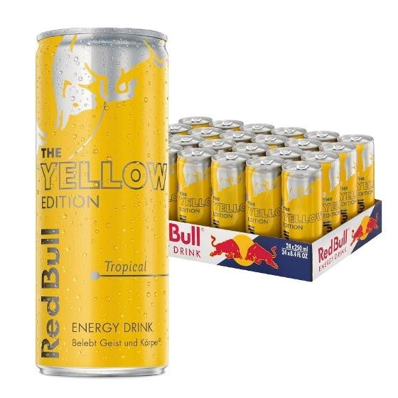 RED BULL Yellow Edition 0,25l (24 Tray)
