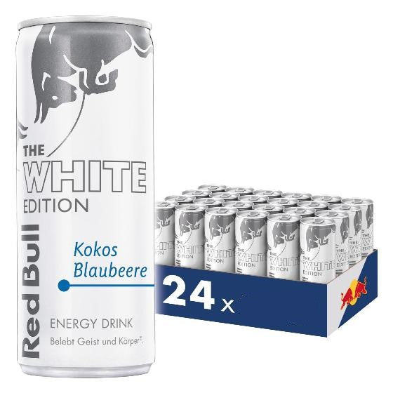 RED BULL White Edition 0,25l (24 Tray)