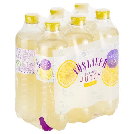 BALANCE JUICY-ZITRONE 0,75l (6 Tray)