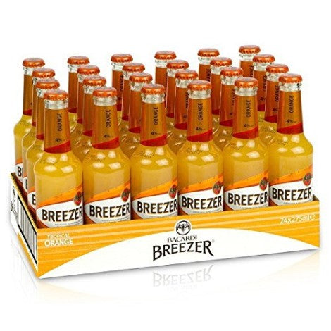 BACARDI BREEZER ORANGE 0,275l (24 Flaschen)