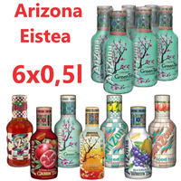 ARIZONA Green Tea 0,5l (6 Tray), verschiedene Sorten