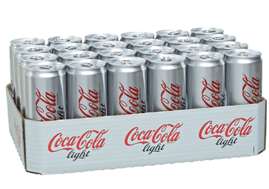 COCA COLA LIGHT DOSE 0,33l (24 Dosen)