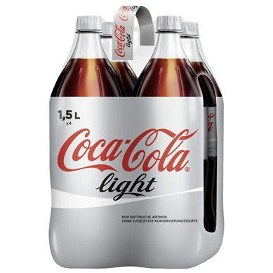 COCA COLA LIGHT 1,5l (4Tray)