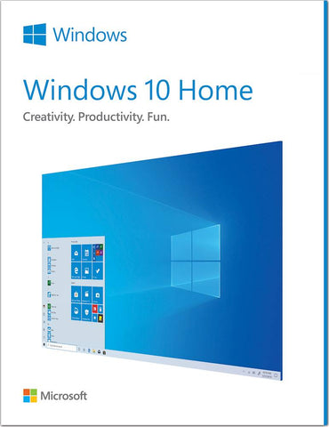Microsoft Windows 10 Home License and Download 32/64 bit 1PC