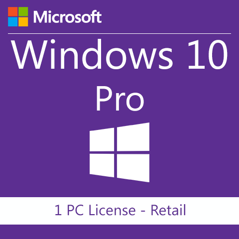 Microsoft Windows 10 Professional Pro License and Download 32/64 bit 1PC