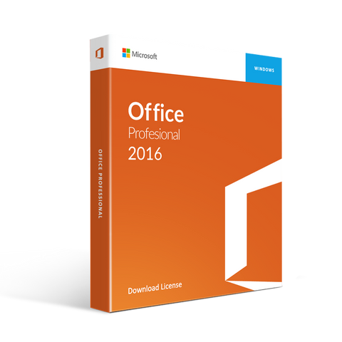 Microsoft Office 2016 Professional Plus License and Download 1PC