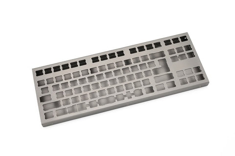 stainless steel bent case for xd87 xd87hs 80% custom keyboard enclosed case upper and lower case