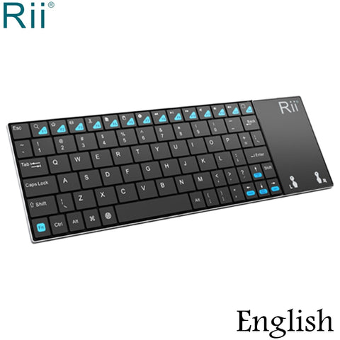 Rii i12 2.4GHz Mini Wireless Keyboard with Multi-Function TouchPad Mouse for PC Laptop Mini PC