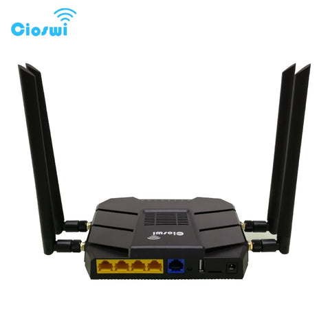4g Wi-fi router gigabit dual band 11AC 1200Mbps 5G vdsl modem router with qos, sim card slot and pci-e slot mtk router