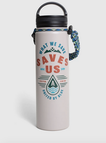 What We Save 22oz Stainless Steel Bottle