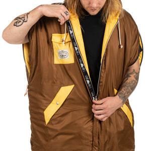 Reversible Napsack - Gold