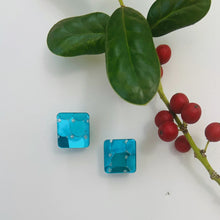 Load image into Gallery viewer, Stud Earrings *Blue*
