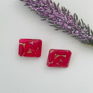 Stud Earrings *Rose Melon seeds*