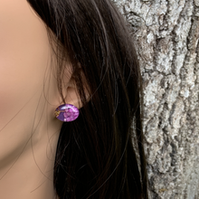 Load image into Gallery viewer, Purple life tree Stud Earrings