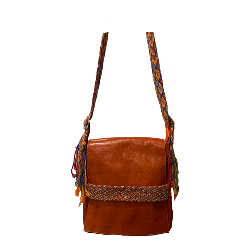 Nopsa handbag  Wayuu orange