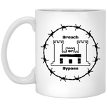 Breach or Bypass 11 oz. White Mug accessories