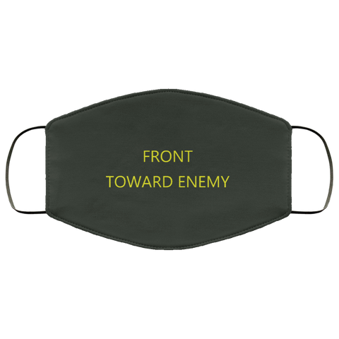 Claymore Yellow Lettering Face Mask accessories