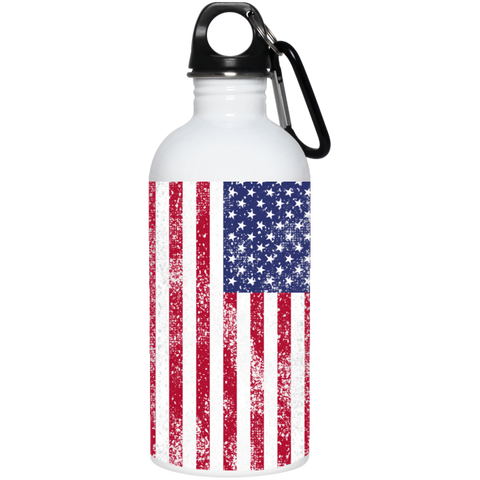 USA 20 oz. Stainless Steel Water Bottle accessories
