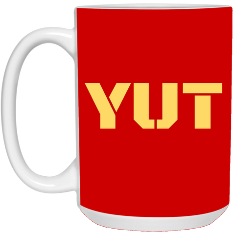 YUT 15 oz. White Mug accessories