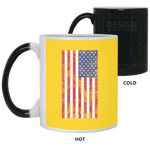 USA Flag 11 oz. Color Changing Mug Accessories