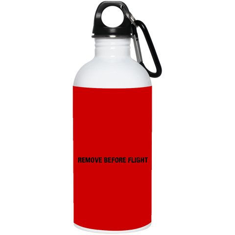 Remove Before Flight 20 oz. Stainless Steel Water Bottle accessories