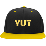 YUT Flat Bill High-Profile Snapback Hat