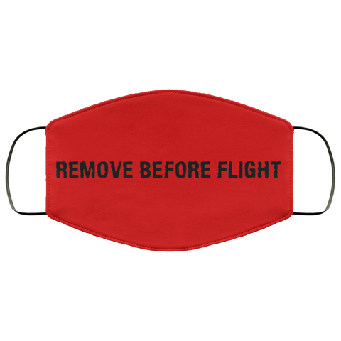Remove Before Flight Face Mask accessories