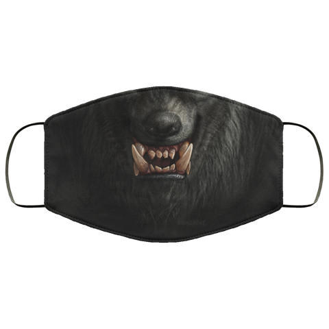 Werewolf Face Mask accessories seasonal