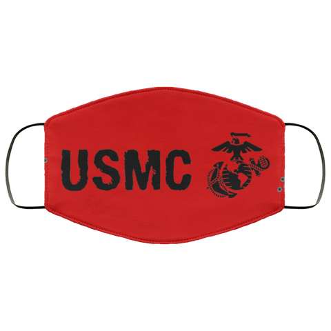 USMC Face Mask red accessories