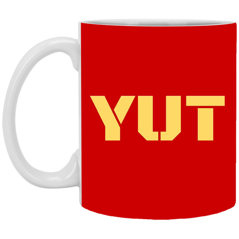 YUT 11 oz. White Mug accessories