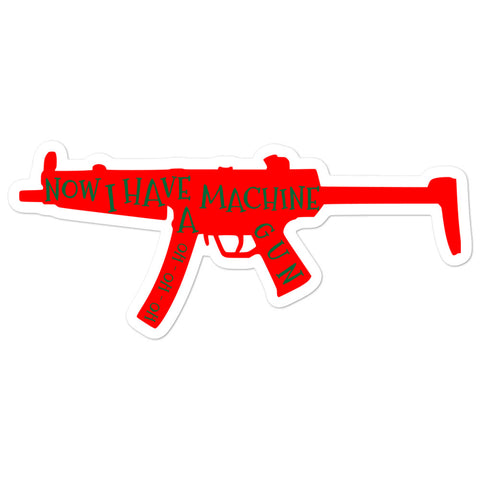 Machinegun Die Hard Bubble-free stickers accessories
