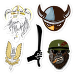 Rifle stickers 11 accessories