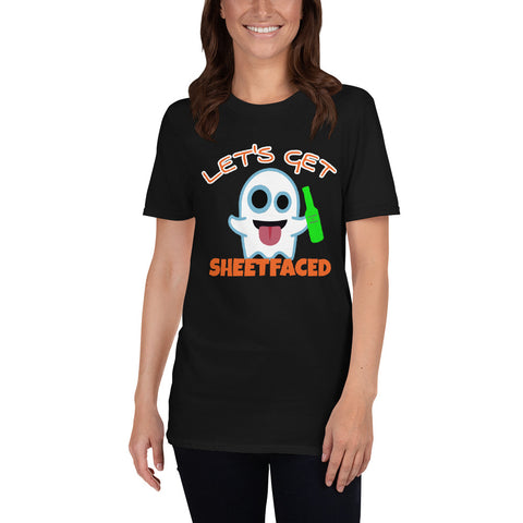 Sheetfaced Short-Sleeve Unisex T-Shirt funny