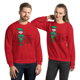 Elf Cheer Unisex Sweatshirt funny