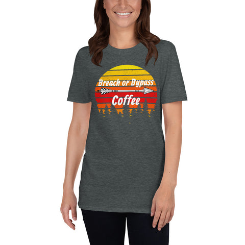 BorB Coffee Arrow Sun Short-Sleeve Unisex T-Shirt